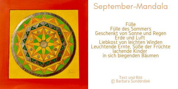 Barbara Sunderdiek September-Mandala